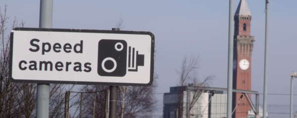 Speed Cameras sign