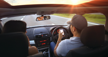 Drivers take their eyes off the road for 7% per journey claims study