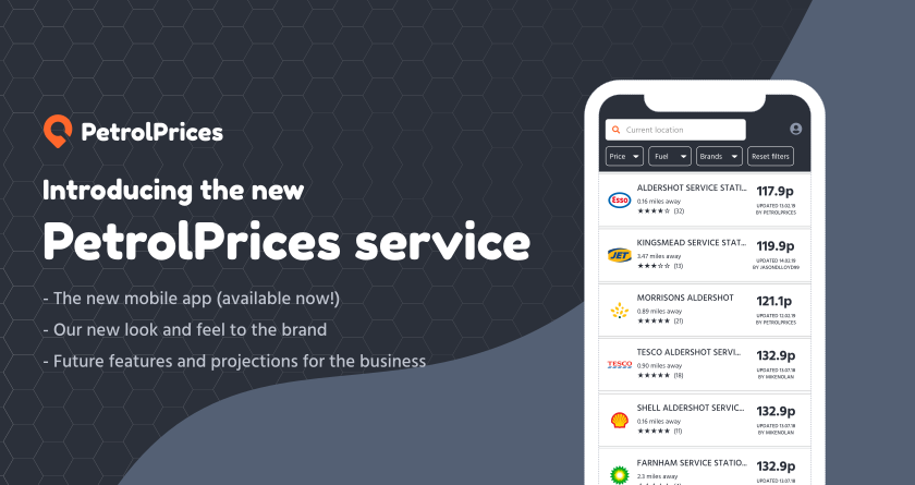 PetrolPrices relaunches apps, new brand and more!
