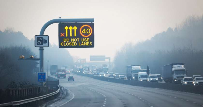 You'll now get fined for ignoring the Red X on a motorway