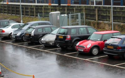 New study reveals some commuters are paying up to £40 a day to park at the train station