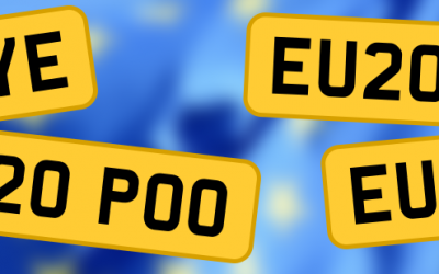 BREXIT – The top private brexit number plates to go on sale for March 2020