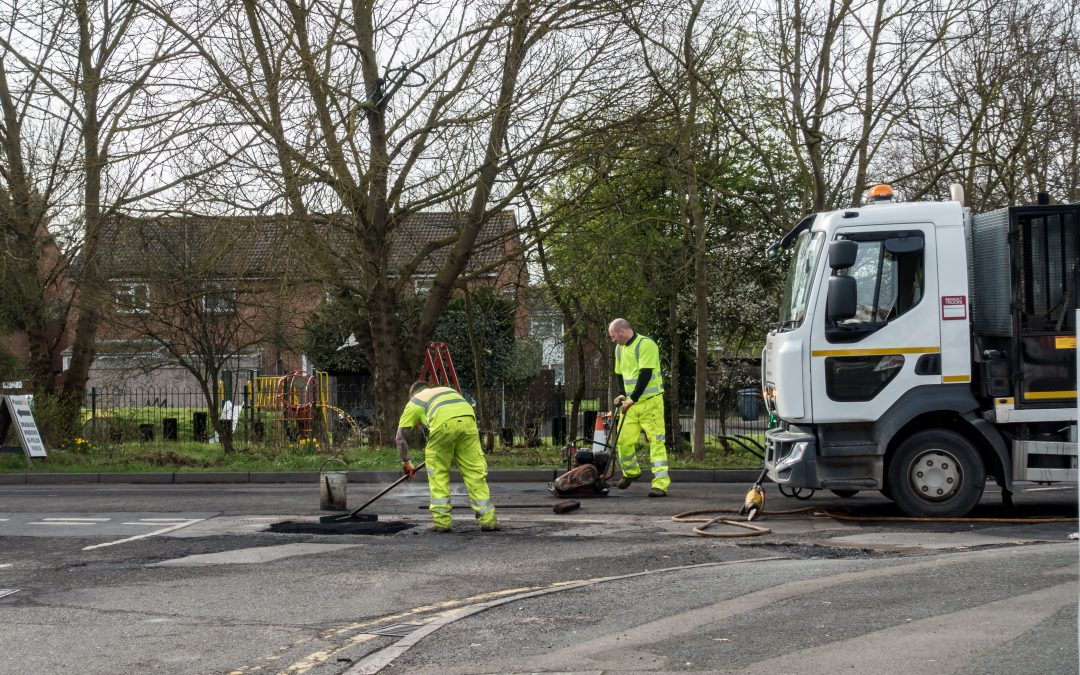 Pothole repair time accelerated by 700% in development of new JCB machine