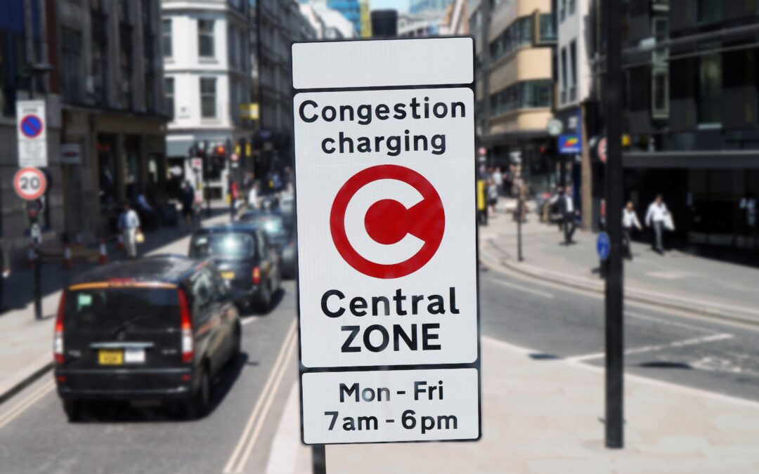London's congestion charge causes pollution levels to climb